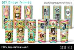 DIY Photo Frames PNGs - Tumbler Sublimation Designs 20oz Product Image 1