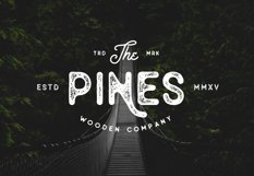 Old Pines Sans Typeface Product Image 6