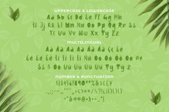 Greenplace Font Product Image 5