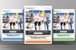 Fitness Training Center Flyer Product Image 1
