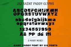 212 Saint Paddy St. Patrick's Irish Ireland Clovers OTF Font Product Image 6