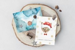 Christmas Animal Creator.Watercolor Dogs & Cats Product Image 2