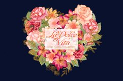 Watercolor floral clipart Product Image 1