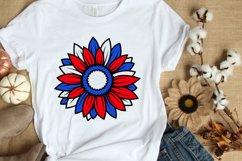 4 Sunflower SVG Bundle 4th of July SVG PNG DXF EPS JPG Files Product Image 4