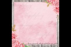 30 Ombre Serenity & Rose Quartz Watercolor Digital Papers Product Image 3
