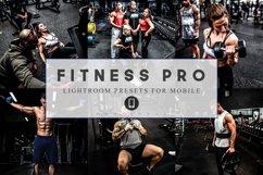 12 Mobile Lightroom Presets Fitness Pro Product Image 1