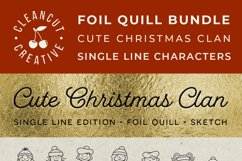 Foil Quill Edition - Cute Christmas Clan - family figures Product Image 4