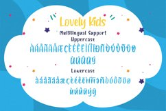 Lovely Kids - Playful Font Product Image 4