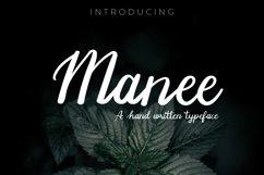 Manee Handwritten Typeface Product Image 1