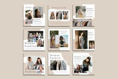 Fashion Instagram Templates Vector Product Image 5