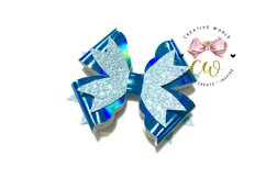 New 2021 Hair Bow Digital Template | Bow Template |CWC167 Product Image 2