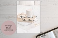 Book of Matthew Printable, Wall art, PDF Printables Product Image 2