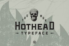 Hothead Western Font Product Image 1