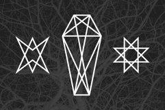 24 Occult Symbols Plus 4 Free Photos Product Image 2