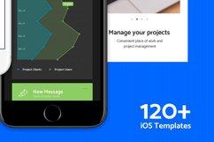 Paneller Admin Dashboard iOS UI Kit Product Image 5