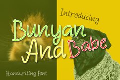 Bunyan And Babe - Funny Font Product Image 1