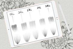 Shadow tattoo needles brushes for Procreate Product Image 5