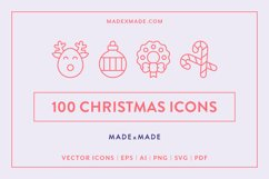 Line Icons - Christmas Product Image 1