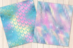 I washed up like this - Summer mermaid Seamless Patterns Product Image 2