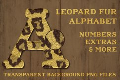 Leopard Fur Alphabet Sailors Diary Product Image 1