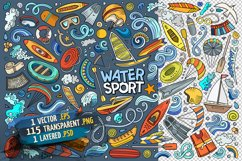 Water Sports Objects & Symbols Set Product Image 4