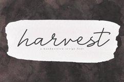 Harvest - A Handwritten Script Font Product Image 1
