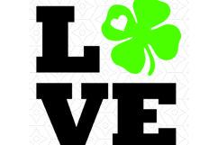 Love St Patricks Day Tee Shirt Design Product Image 2