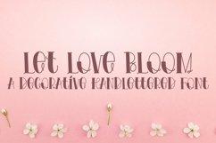 Web Font Let Love Bloom - A Decorative Product Image 1