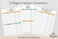 Kitchen Inventory Bundle - Editable Product Image 4