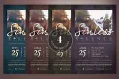 Sinless Church Flyer Template Product Image 5