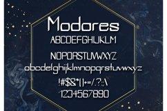 Modares Neo-Gothic Font Product Image 2