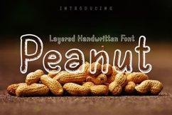 Peanut   Layered Handwriting Product Image 1