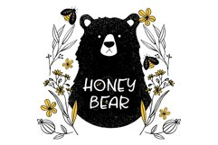 Honey and Bee Font Product Image 5