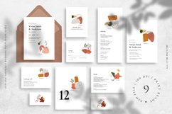 Artisan Abstract Wedding Invitation Suite Product Image 1