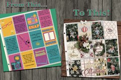 Journal Junky Digital Scrapbooking Templates Product Image 3