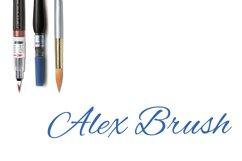 Alex Brush - Part of the Amazing Scripts Bundle! Product Image 1