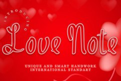 Love Note Product Image 1