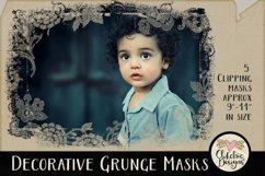 Decorative Grunge Photoshop Clipping Masks & Tutorial Product Image 2