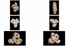 113 Broken Halloween Horror Doll Parts Head Legs Hands Product Image 3