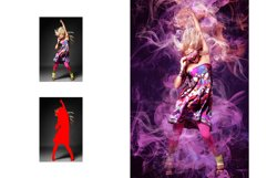 Color Smoke Photoshop Action Product Image 3
