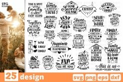 Camping SVG Bundle| Hiking Cut File | Silhouette Product Image 4