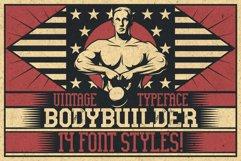 Bodybuilder Layered Font plus Bonus Product Image 5