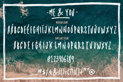 Me & you - dry marker font and extras! Product Image 2