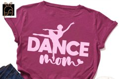 Livin That Dance Mom Life - Dance Mom SVG DXF EPS PNG Product Image 2