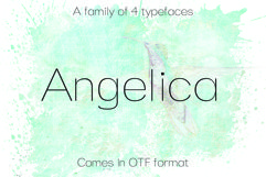 ANGELICA, A Thin Typeface Product Image 1