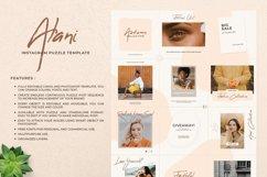 Alani Instagram Puzzle Template - Canva & PSD Product Image 2