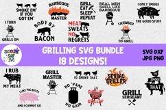Grilling SVG Bundle - Grill SVG - Barbeque SVG - BBQ SVG Product Image 1