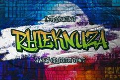 Rhieknuza - Graffiti Font Product Image 1