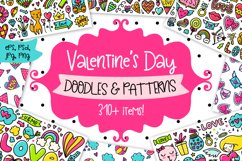 Valentine's Day Clipart & Patterns! Product Image 1