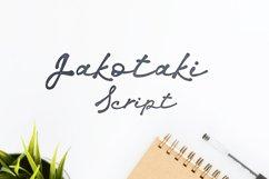 Jakotaki Script Product Image 1